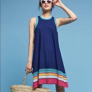 Akemi + Kin Crochet Trim Swing Dress Anthropologie
